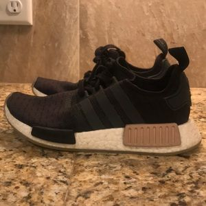GREAT CONDITION BLACK AND PINK ADIDAS NMDS